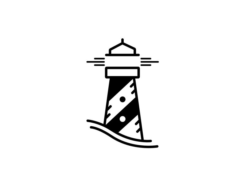 Lighthouse / Logo design.