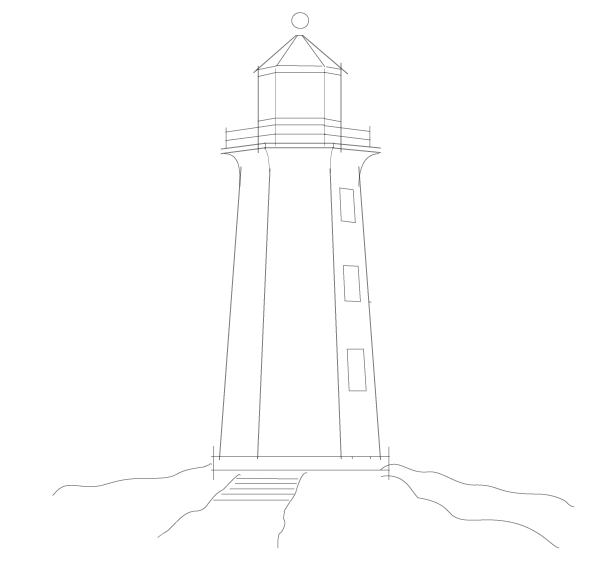 Free Lighthouse Drawings, Download Free Clip Art, Free Clip.