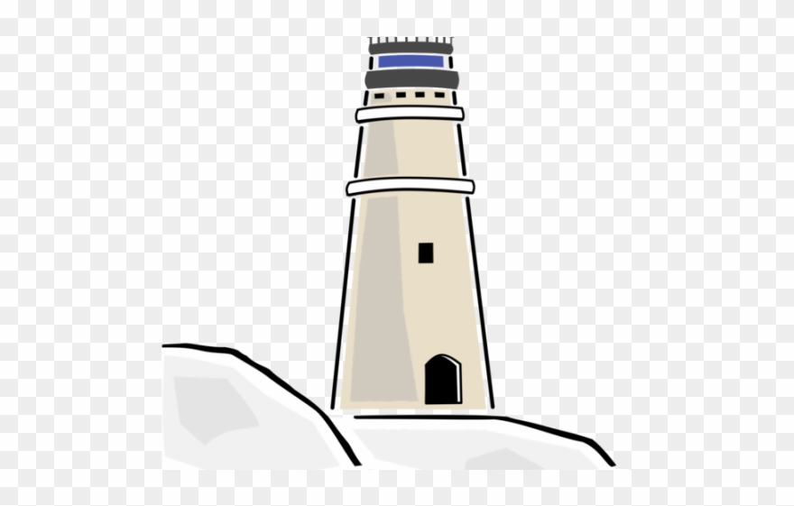 Beacon Clipart Lighthouse Outline.