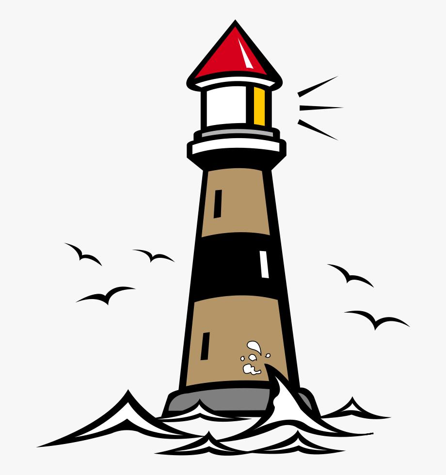 Lighthouse Clipart Public Domain.