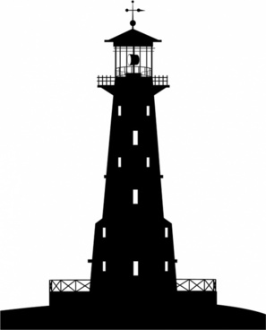 Lighthouse silhouette free vector download (5,539 Free.