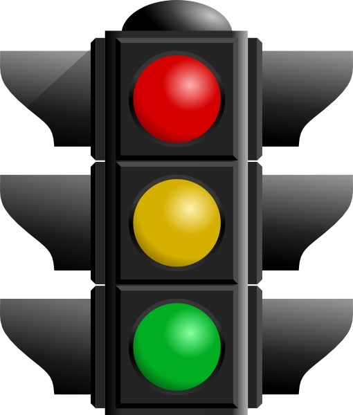Traffic Light clip art Free vector in Open office drawing svg.