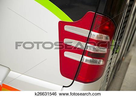 Stock Images of Lighting system light bus k26631546.