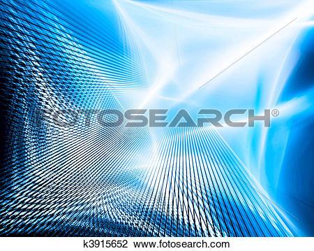 Clip Art of Lighting technology background k3915652.