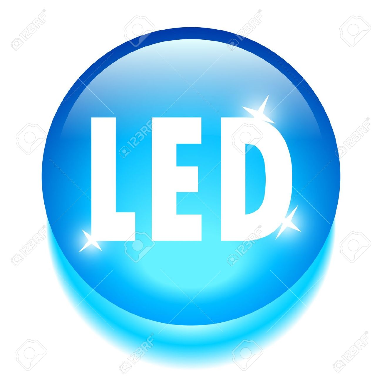 Led Technology Icon Royalty Free Cliparts, Vectors, And Stock.