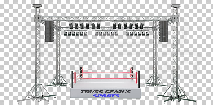 Stage lighting Truss System, stage light, Truss Genius.