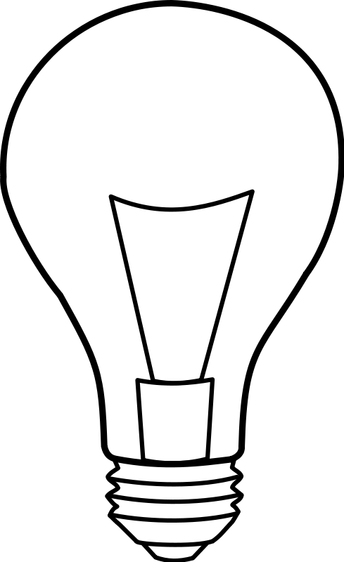 Light Bulb Clip Art Download.