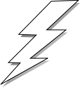 Lightning bolt clipart free 1 » Clipart Station.
