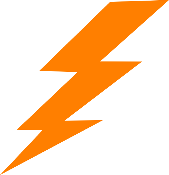 Lightning Bolt Clip Art at Clker.com.