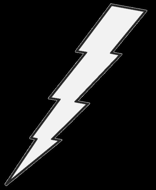 Lightning bolt clipart transparent gif.