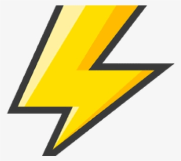 Free Lightening Bolt Clip Art with No Background.
