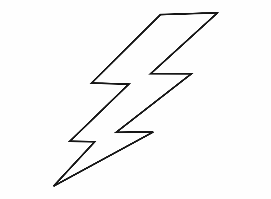 Lightning Bolt Drawing Easy, Transparent Png Download For.