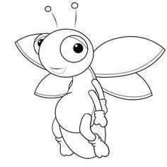 Showing post & media for Cartoon lightning bug drawing.