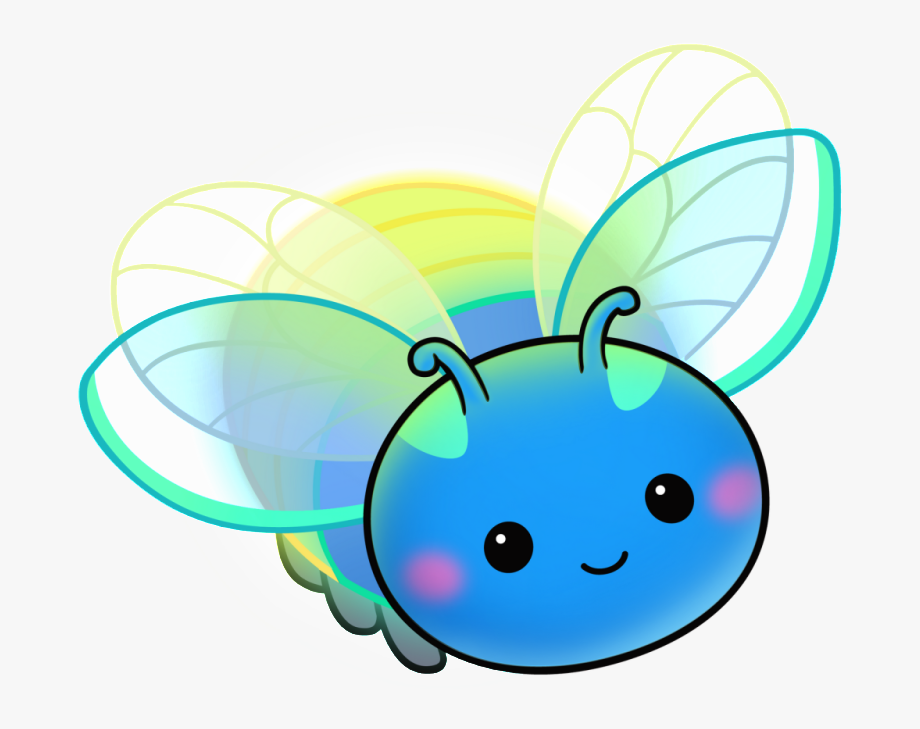 Cute Lightning Bug Clipart , Transparent Cartoon, Free.