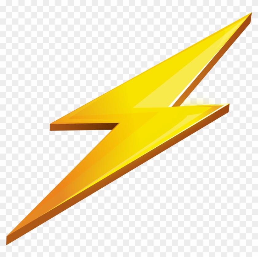 Transparent Background Lightning Clipart, HD Png Download.