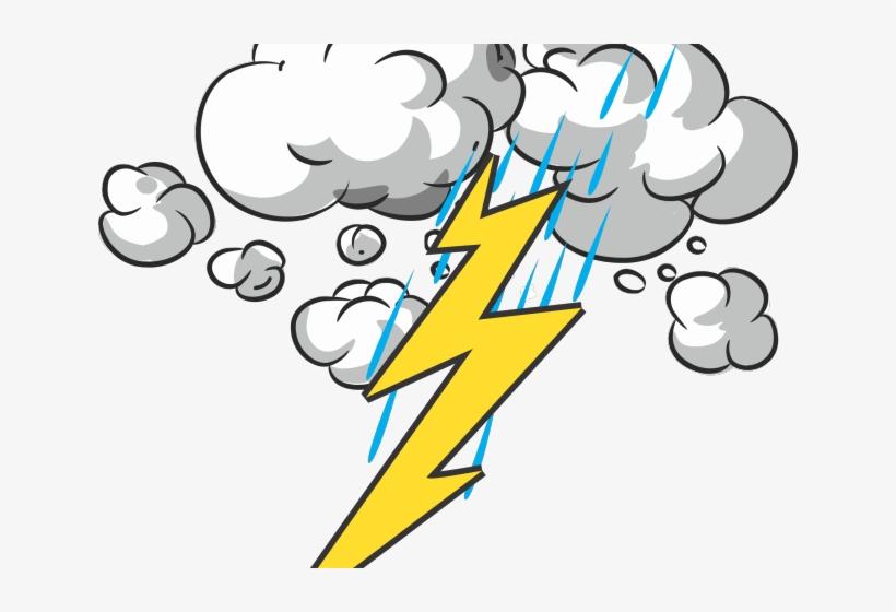 Thunder And Lightning Clipart.