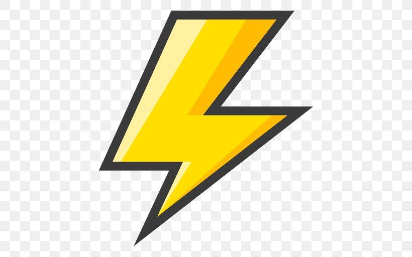Lightning Bolt Symbol Clip Art, PNG, 512x512px, Lightning.