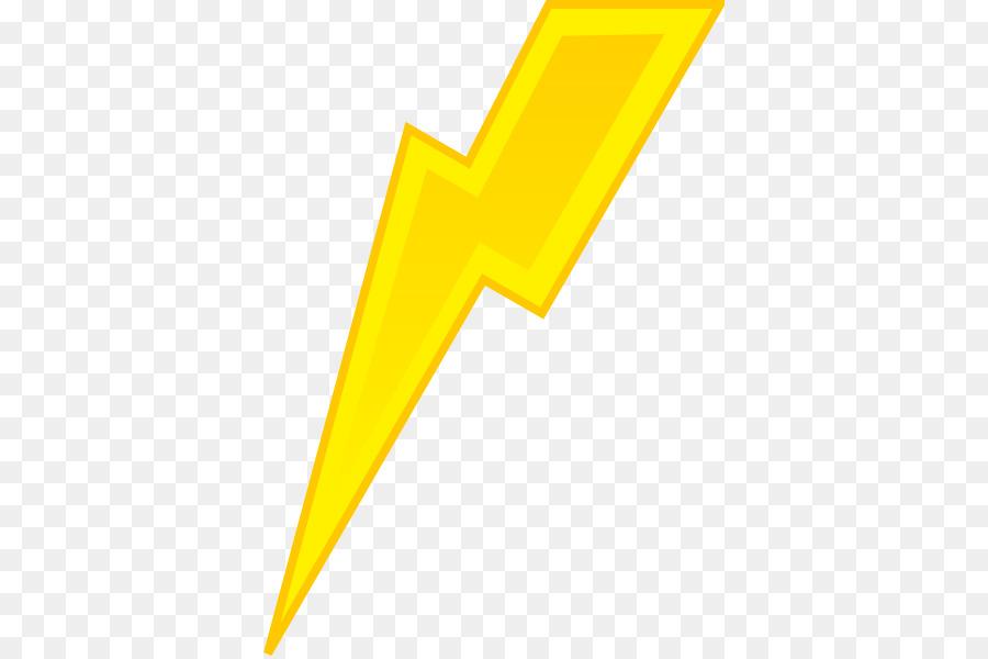 Free Lightning Bolt With Transparent Background, Download.