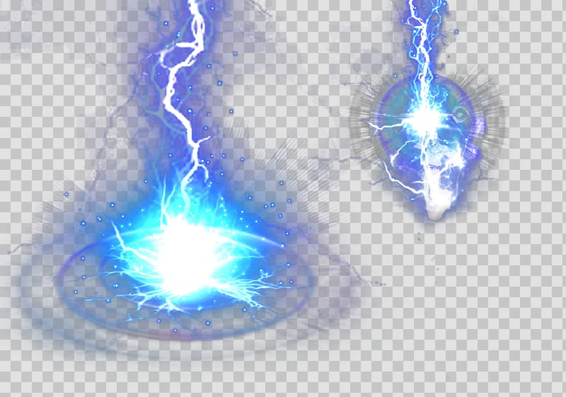 Lightning effect, Lightning, Blue Lightning Effect.