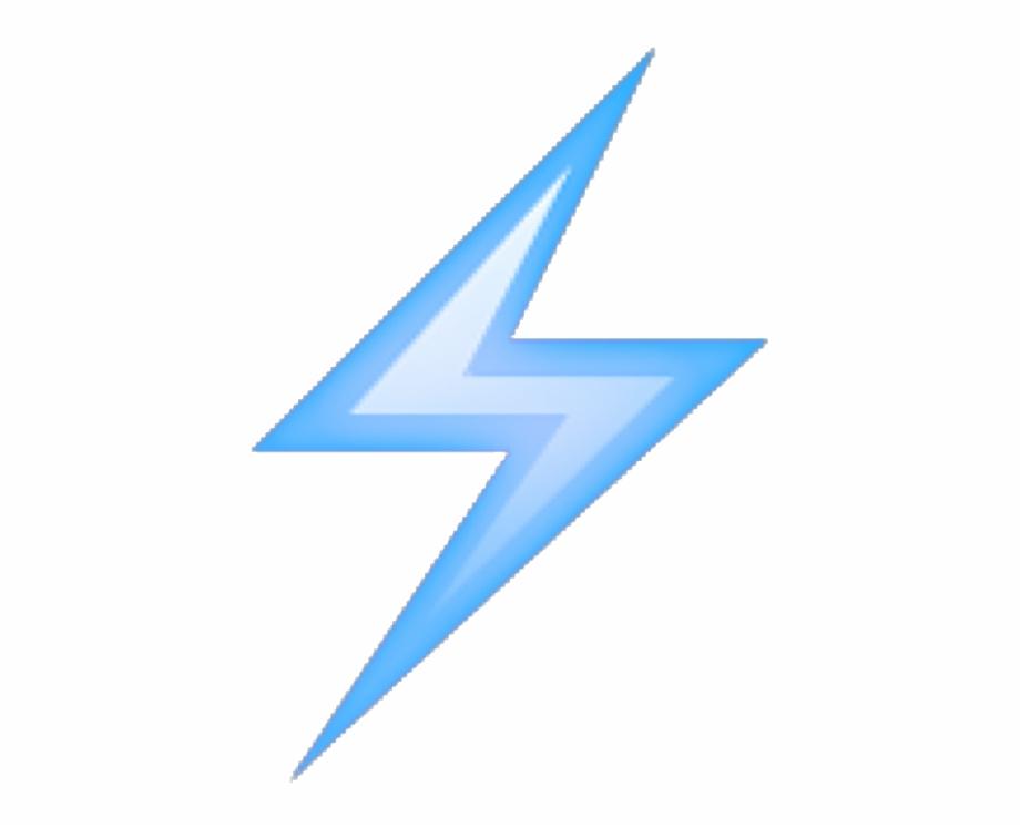 Lightningemoji Purple Blue Aesthetic.