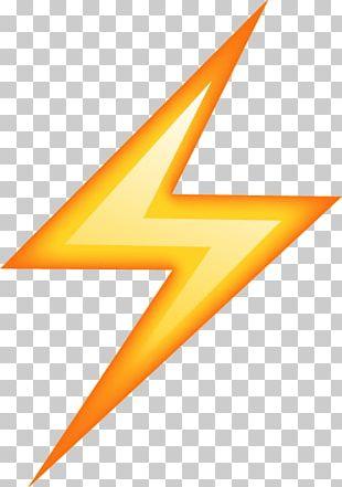 Emoji Pop! Lightning Sticker Thunder PNG, Clipart, Angle.
