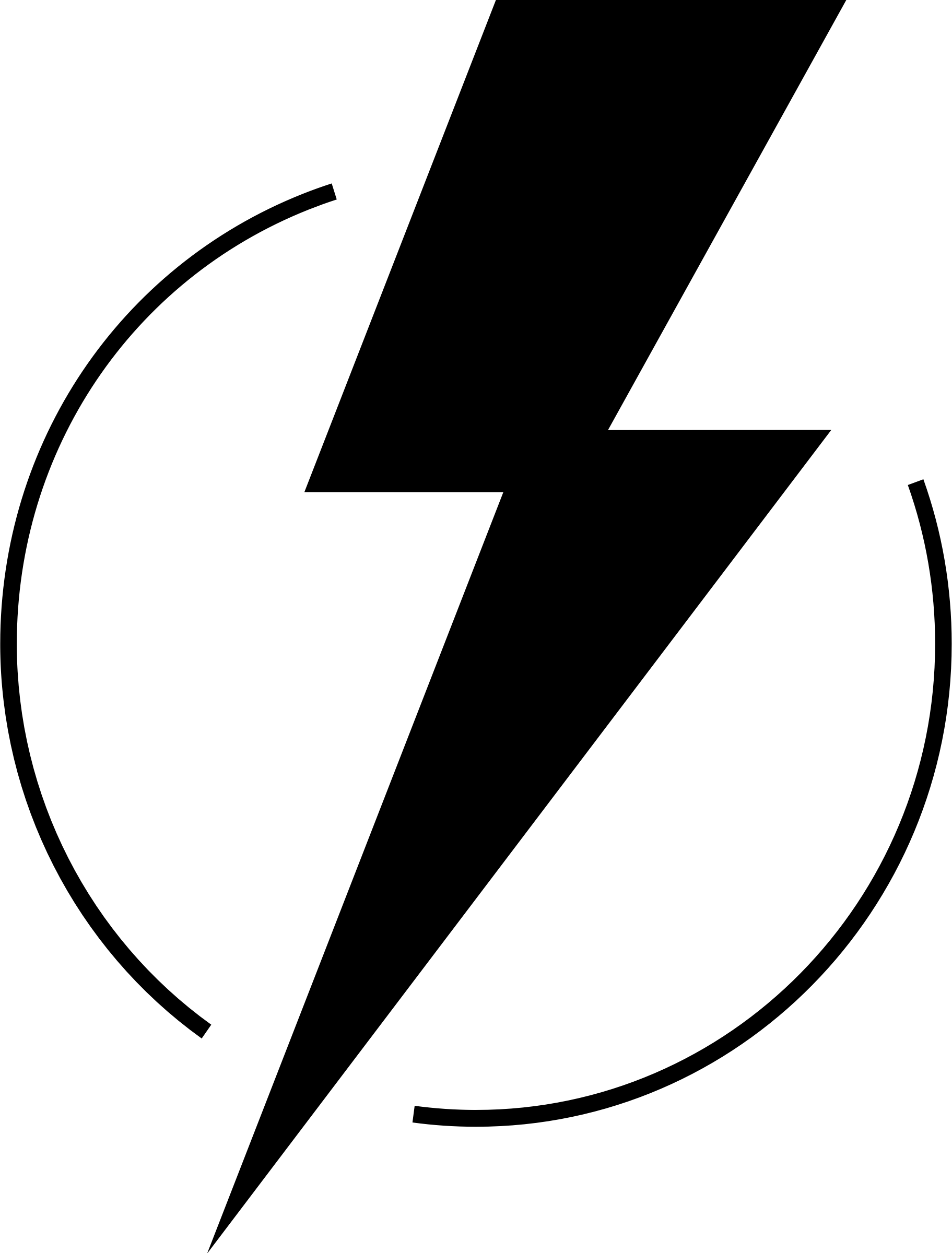 Lightning Bolt Cool Logo.