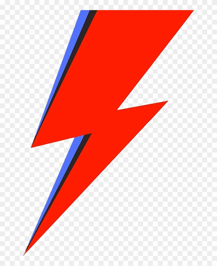Red Lightning Bolt Png.