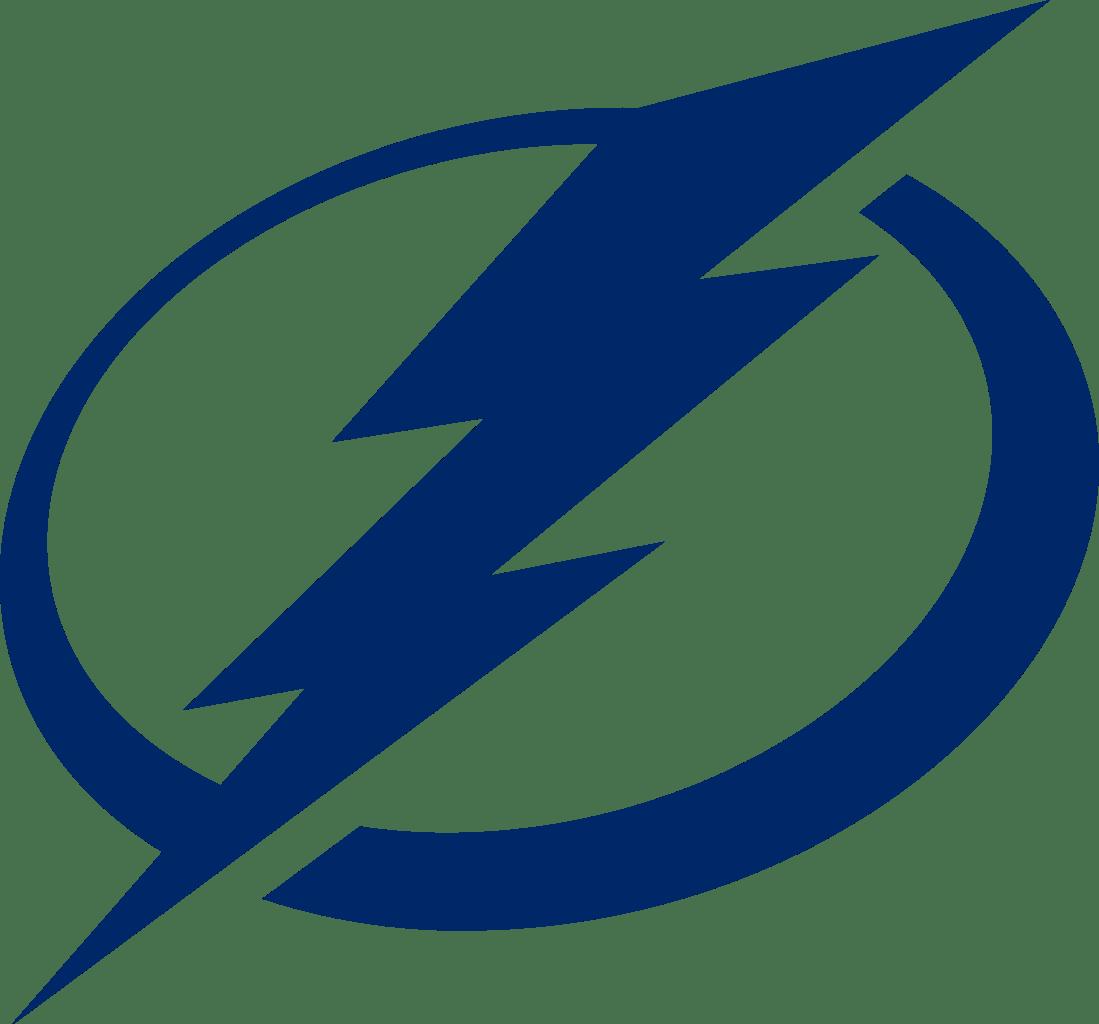 Tampa Bay Lightning Official Logo transparent PNG.