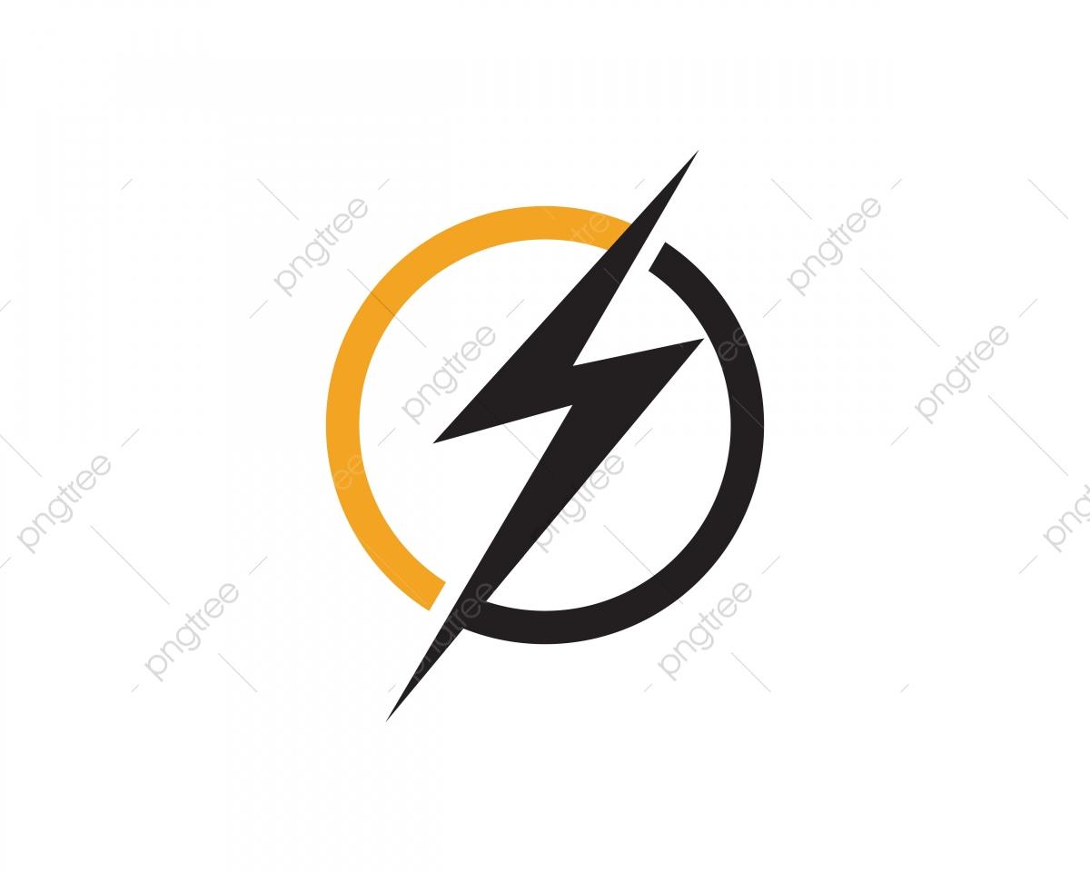 Flash Thunder Bolt Logo, Isolated, Lightning, Load PNG and.