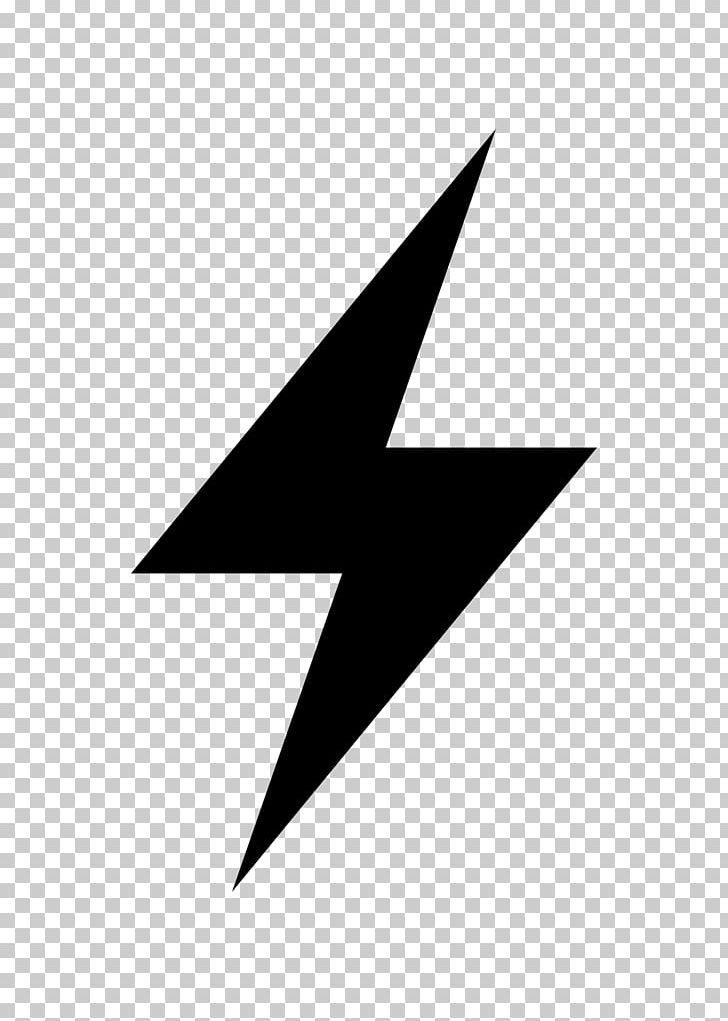 Logo Lightning Electricity PNG, Clipart, Angle, Black, Black.