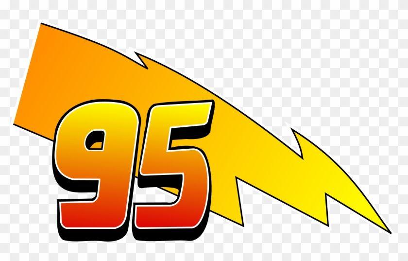 Lightning McQueen 95 Logo.