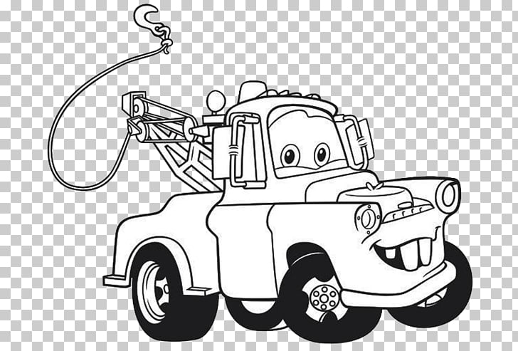 Lightning McQueen Mater Drawing Cars Coloring book, mcqueen.