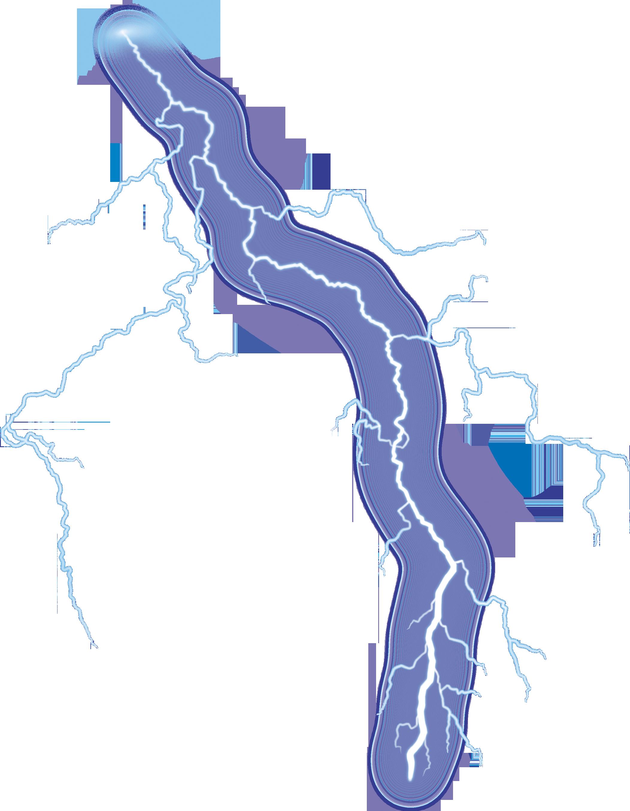 Lightning PNG Image.