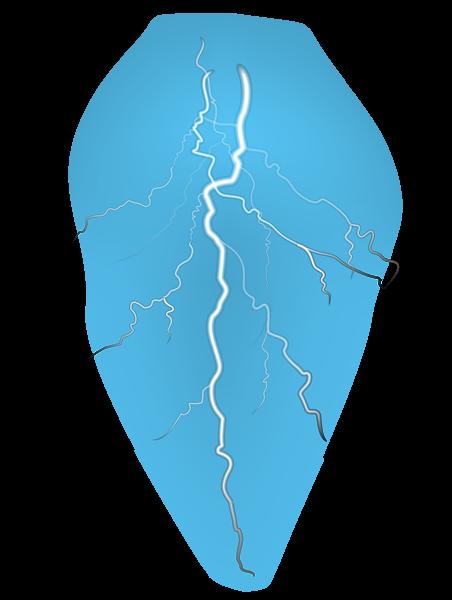 Lightning PNG Image Background.