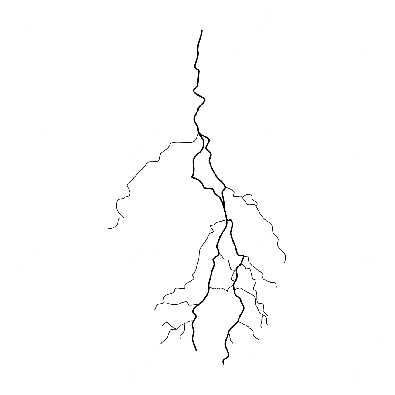 Lightning Png File.