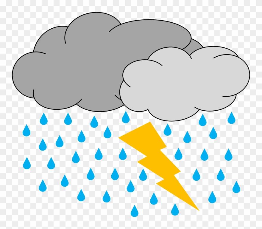 Thunder Storm Clip Art.