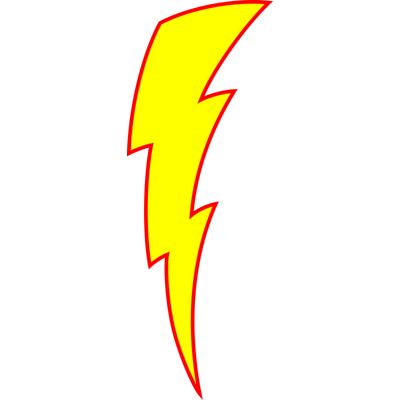 Lightning Bolt Clipart In Vector.