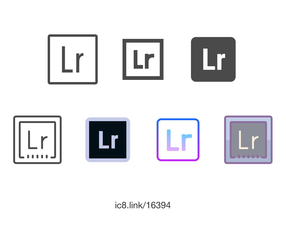 Adobe Lightroom Icon.