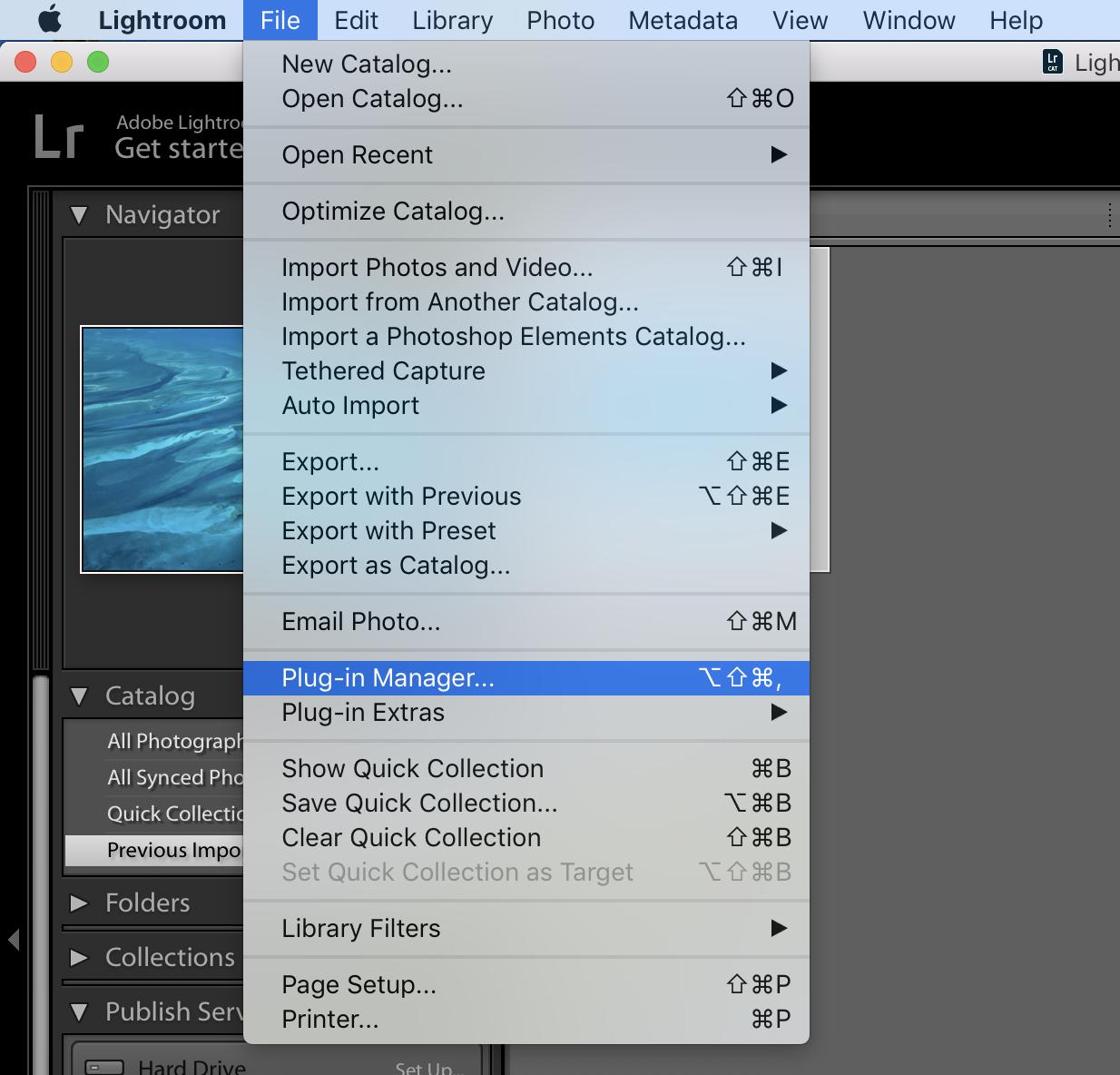PhotoShelter's Official Adobe Lightroom Plug.