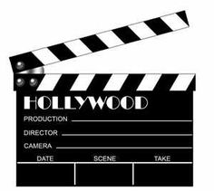 Lights camera action clipart 1 » Clipart Station.