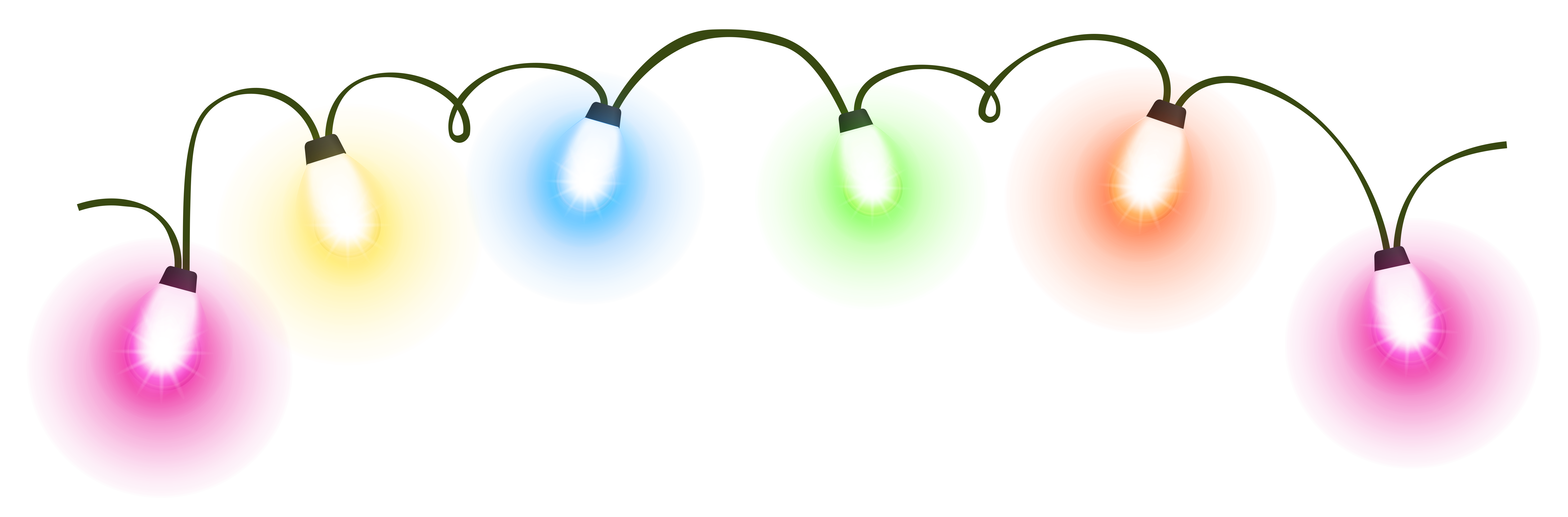 Free Christmas Lights Clipart Pictures