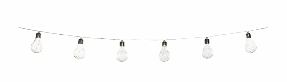Lightware 10 Led Solar Bulb String Lights Light.