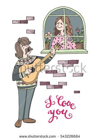 Love Serenade Stock Photos, Royalty.