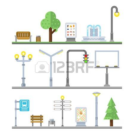 1,325 Street Lighting Stock Vector Illustration And Royalty Free.