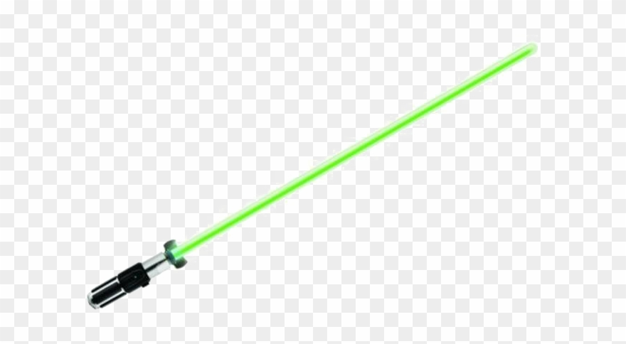 Green Lightsaber Png Image.