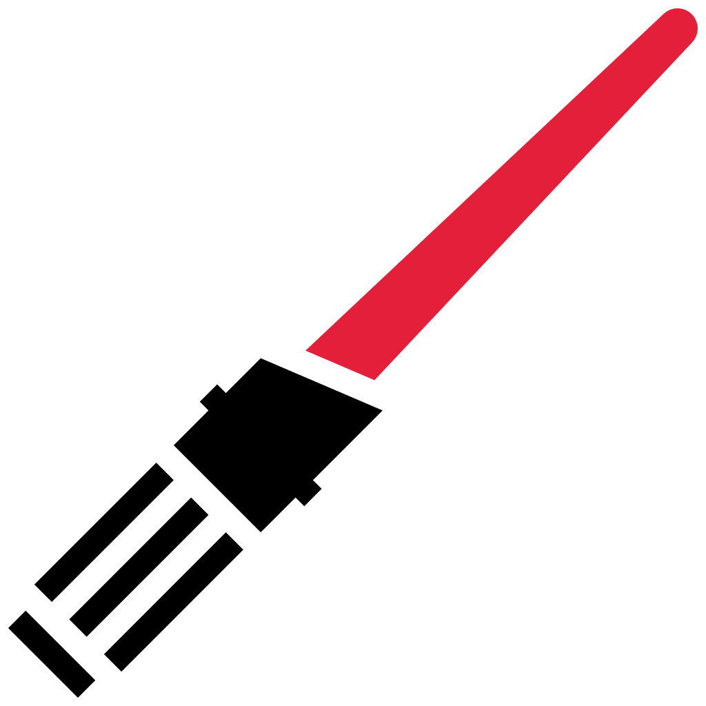 Starwars clipart light saber, Starwars light saber.