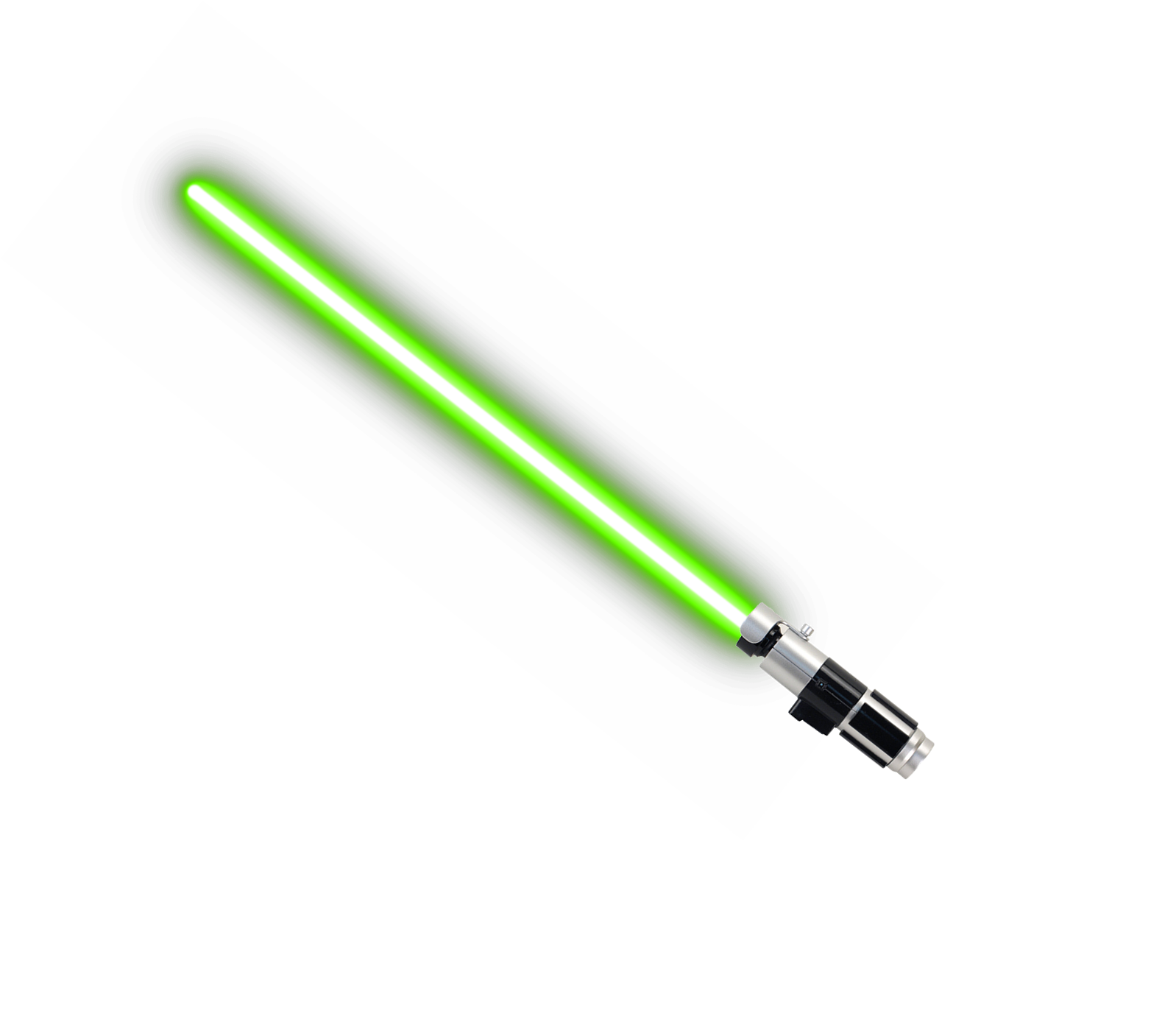 Green Lightsaber Transparent Background PNG.