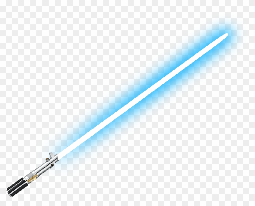 Semi Transparent Lightsaber Made By Totally Transparent.