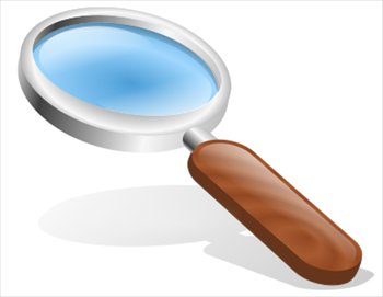 Free Magnifying Glasses Clipart.