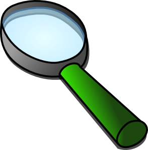 Magnifying Glass Science Clipart.